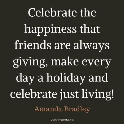 Amanda Bradley – Celebrate the happiness …