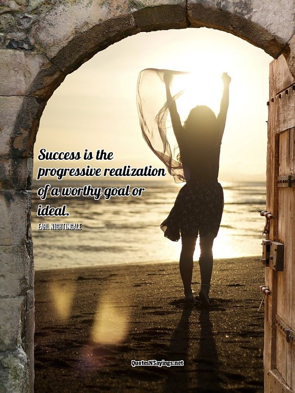 Earl Nightingale Success Quote