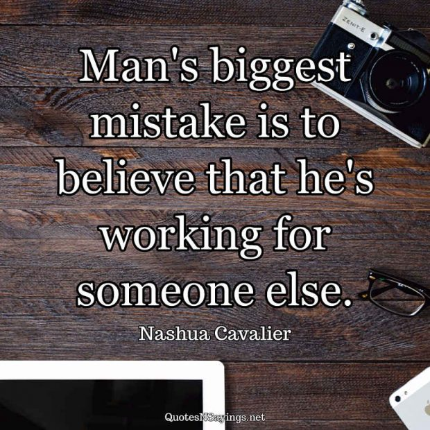 Nashua Cavalier – Man's biggest mistake …