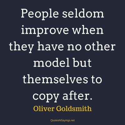 Oliver Goldsmith Quotes At QuotesNSayings