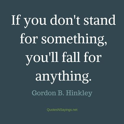 Gordon B Hinckley Quotes And Sayings
