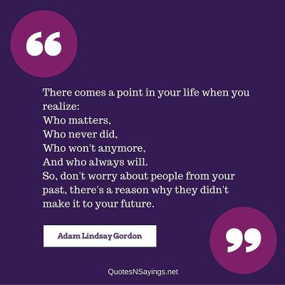 Adam Lindsay Gordon Quote – There comes a point …