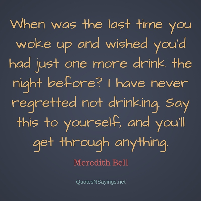 Quotes And Sayings: Sobriety Quotes And Sayings