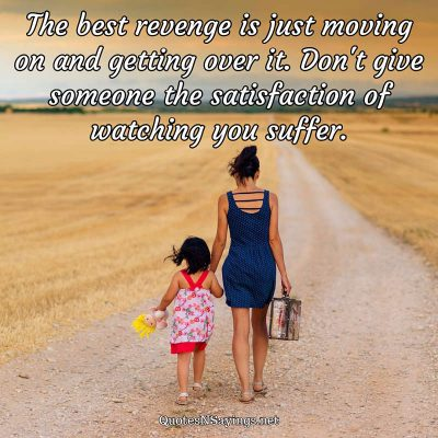 Anonymous – The best revenge …