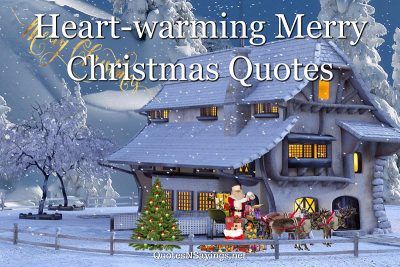 Heart Warming Merry Christmas Quotes